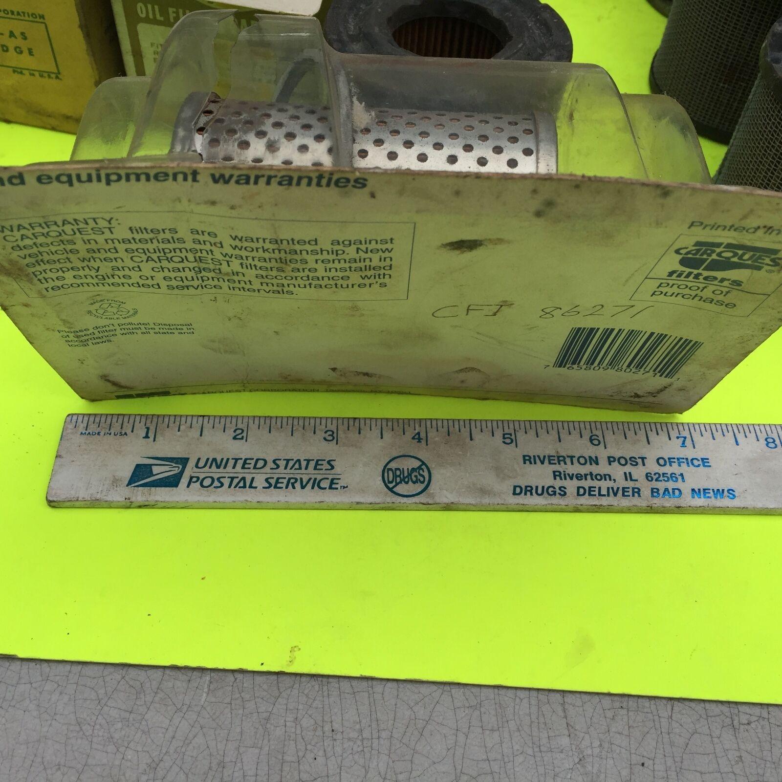 U.S. old cars,  filter.    Carquest  CF7-86271.       Item:  4665