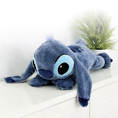 BNWT Soft 24inch Large Lying Stitch Plush Disney Toy Cushion Bed Rest Pillow