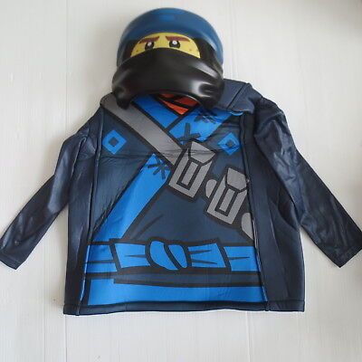 Lego Ninjago JAY Child Deluxe Costume No Pant - Size L/G (10-12) - NWT