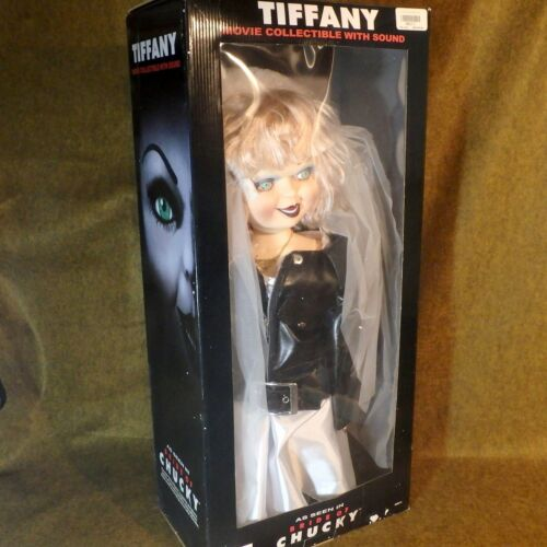 """Vintage Tiffany 1998 Bride Of Chucky Doll Movie Collectible 24""""  Spencer Gifts"""