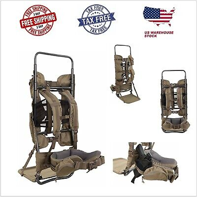 Large Hiking Elk Meat Hunting Backpack Frame Best Camo Molle Freight Gear Pack