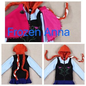 Frozen Anna and Elsa sweaters