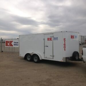 Enclosed, dump, car trailer rentals
