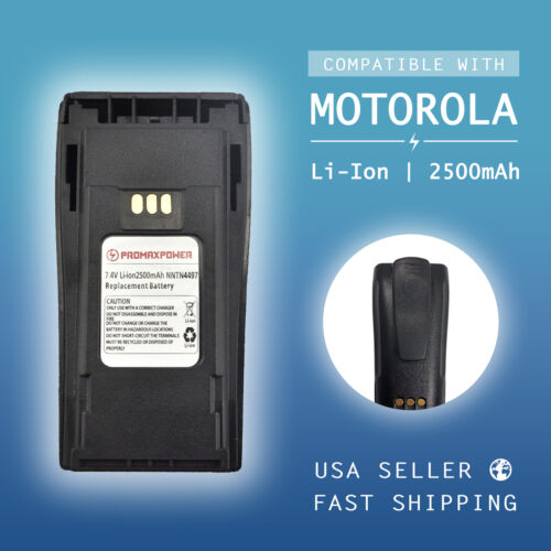 Li-ion 2500mAh Battery for Motorola Radio NNTN4497 CP150 CP200XLS PR400 EP450