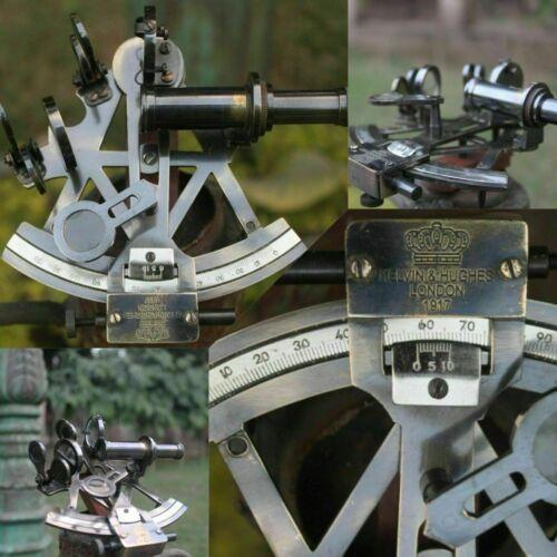 Solid Brass Marine Sextant Vintage Working German Sextant Ship Instrument Gift