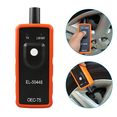 El 50448 Tpms Reset Tool Relearn Tool Auto Tire Pressure Sensor For Gm Vehicle