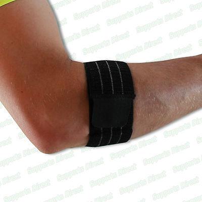 Superior Elastic Tennis Golfer Elbow Brace Support Strap Band Sleeve Tendonitis