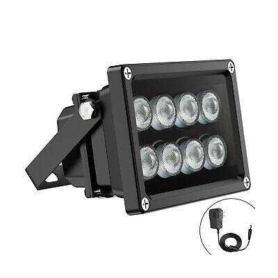 Univivi IR Illuminator 90 Degree Wide Angle 8-LEDs IR Infrared Light Security...