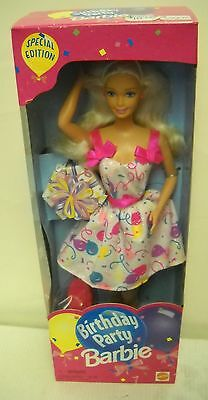 #3903 NRFB Supermarket Birthday Party Barbie Special Edition 2nd in Series - Party Supermarket