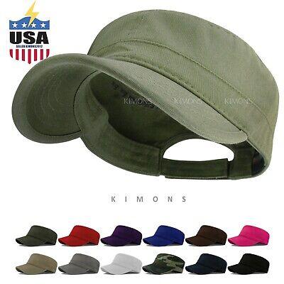 Military Cap Army Hat Cadet Patrol Castro Men Women Golf Driving Camo Baseball