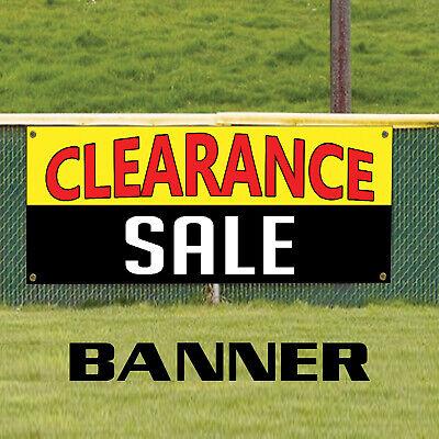 Clearance Sale Half Price Discount Winding Up Indoor Outdoor Vinyl Banner Sign