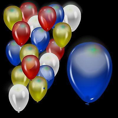 3 Stück LED Luftballons Hochzeit Feier LED Leuchte Ballons Luft Ballons blinkend ()