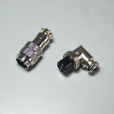 4 Pin Mic Connector (Mic Jack 4 Pin Microphone Audio Adapter Connector Plug Female/Male Solder Type )