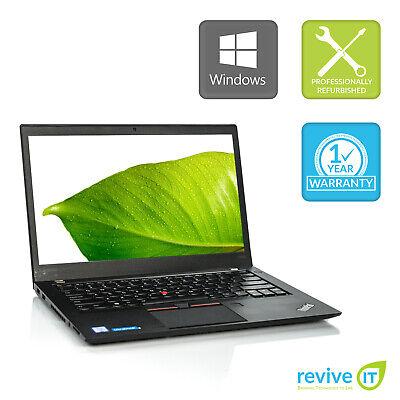 Lenovo ThinkPad T460s Ultrabook Laptop Core i5 8GB 256GB SSD Win 10 Pro B v.WAA comprar usado  Enviando para Brazil