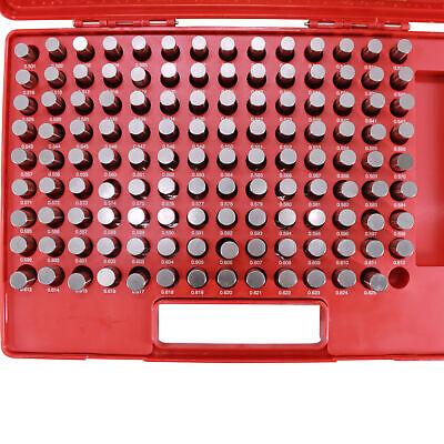 Hfsr 125 Pcs M3 .501-.625 Class Zz Steel Pin Gage Set Plus