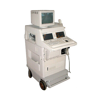 Agilent Hp M2406a Sonos 2000 Cardio Ultrasound W Philips 212588 7.55 Mhz Probe