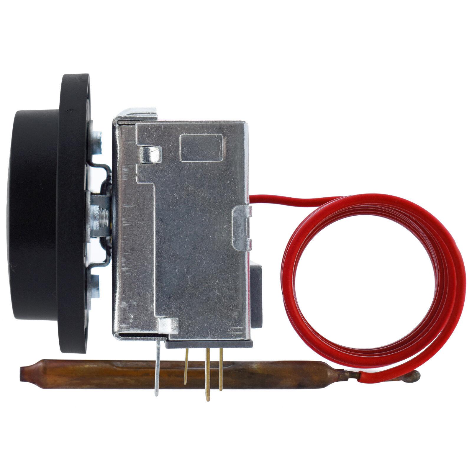 Einbau Einphasig Thermostat mit Fernfühler kapillar HEIZEN KÜHLEN 230V 16A SPDT