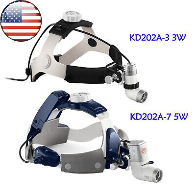 Us Dental Ent Surgical Led Headlight Medical Headlamp 3w 5w