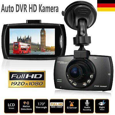 DASHCAM FULL HD AUTO TAXI 1080P RECORDER KFZ KAMERA NACHTSICHT CARCAM