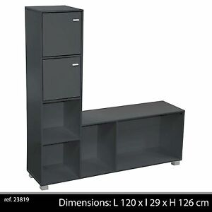 Meuble television living tele tv salon armoire support for Armoire salon design