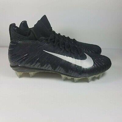 7a0d884ae8ea NEW Nike Alpha Menace Elite Men's Football Cleat 871519-001 Size 11 Black  Silver