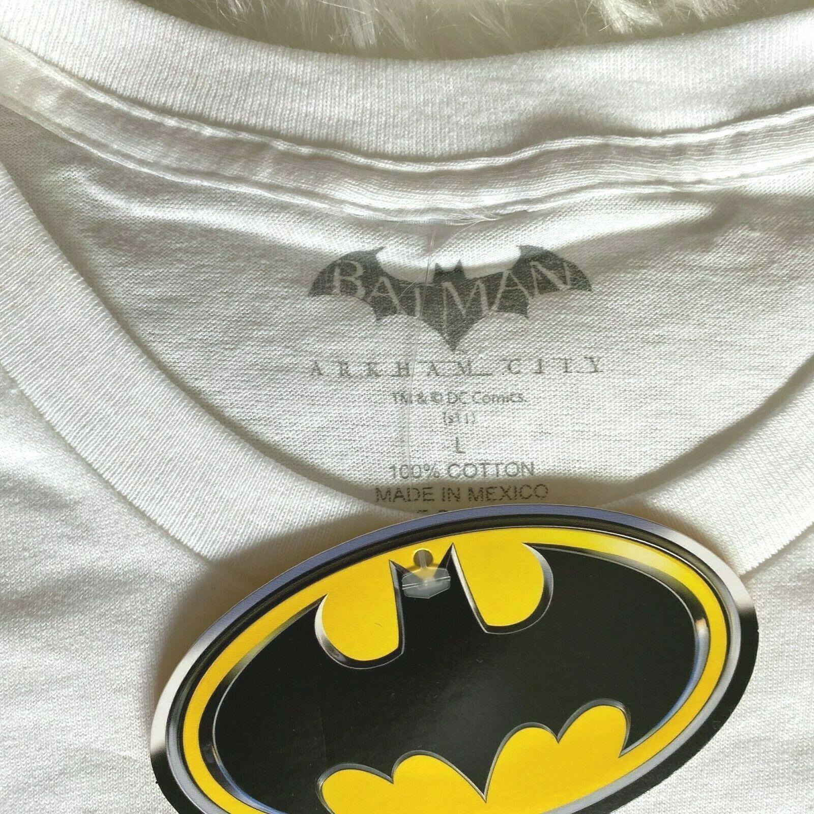 Batman Arkham City 10-18-11 Promotional Promo T-Shirt Large Xbox 360 Wii U - $22.49