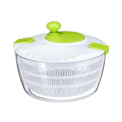Salatschleuder zum Kurbeln Salattrockner salad spinner Salatkarussel XL 5 Liter