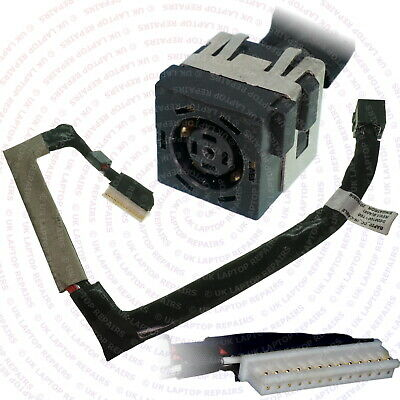 Dell Alienware 17 R4 AW17R4 DC Jack Power Port Socket Cable Harness...
