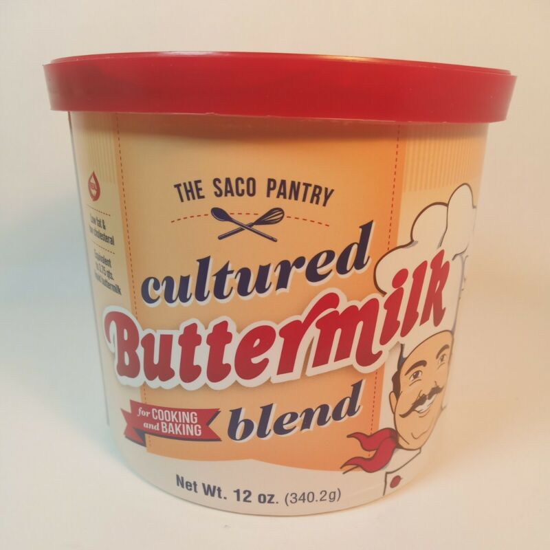 Saco Cultured Buttermilk Blend, 12 oz dry cooking baking