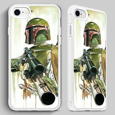 Boba fett Star Wars Bounty Hunter QUALITY PHONE CASE for iPHONE 4 5 6 7 8 X