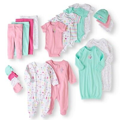 Cute 20 Piece Baby Girls Clothing Set Great Baby Shower Gift Best Kit Good