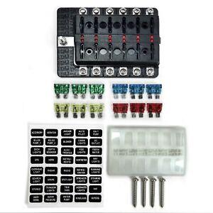 12 volt fuse block ebay. Black Bedroom Furniture Sets. Home Design Ideas