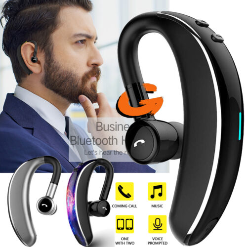 Wireless Headset Headphone V5.0 Bluetooth Stereo Car Earbud