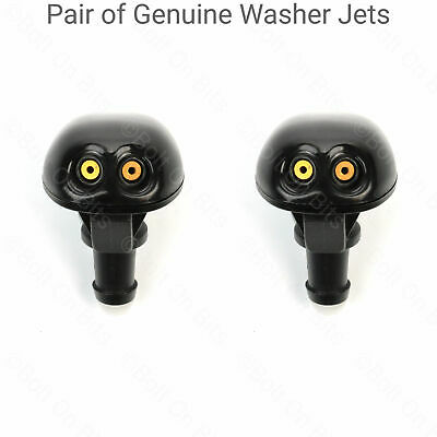 Isuzu Pickup DMAX Rodeo 2004 & later PAIR Windscreen Wiper Washer Jet Nozzles