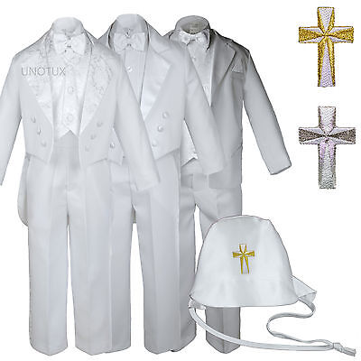 Baby Toddler Boys Easter Christening Baptism Formal Tuxed...