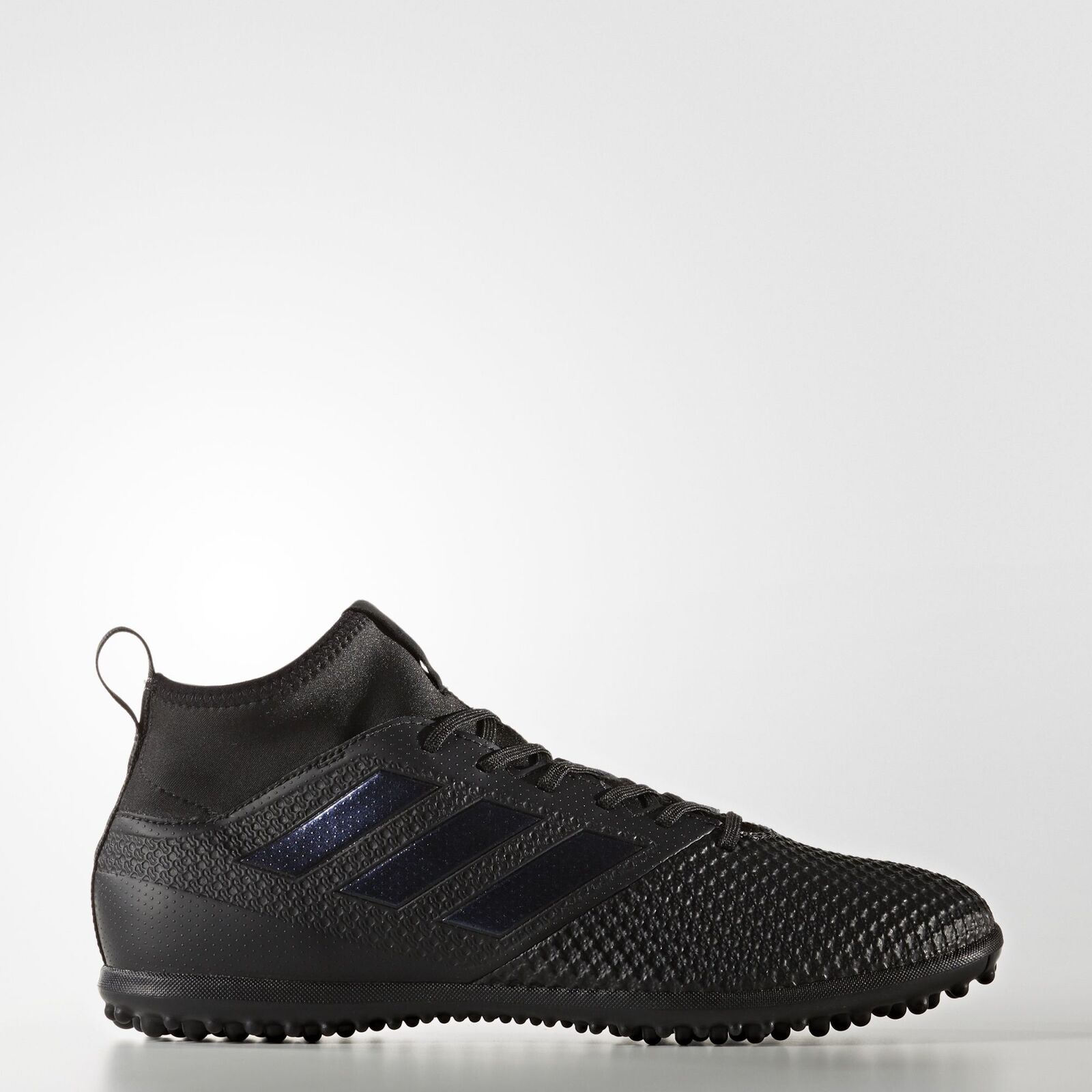 New Adidas Ace Tango 17.3 TF Indoor Soccer Turf Shoes All Black S77084