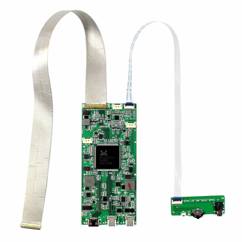 """HDMI Type C Controller Board HDR Support For 15.6"""" NV156QUM 3840x2160 LCD Panel"""