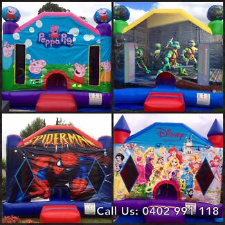 Jumping Castles Hire from $120 All Day