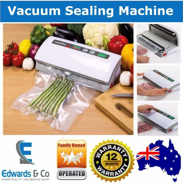 VACUUM SEALING SEALER MACHINE Food Storage Packaging System Cryovac Campfire New