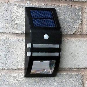 2 xsuper led solar power rechargeable pir motion sensor. Black Bedroom Furniture Sets. Home Design Ideas