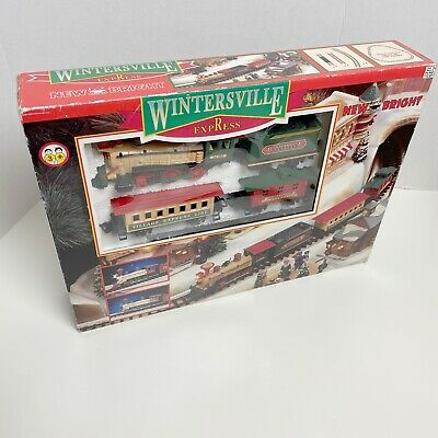 Wintersville Express Battery Operated Train Set # 170 By New Bright (Parts Only)