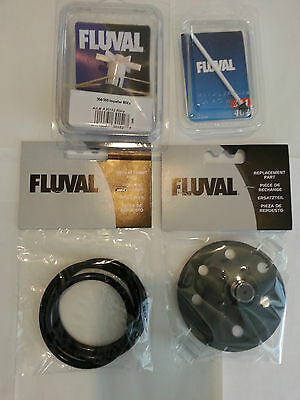 - Fluval 304 305 Filter Complete Tune Up Kit w/ Impeller, shaft, cover, seal ring