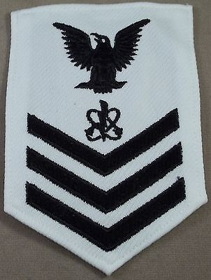 US Navy Petty Officer 1st Class Electronics Warfare Technician Polyester Rate