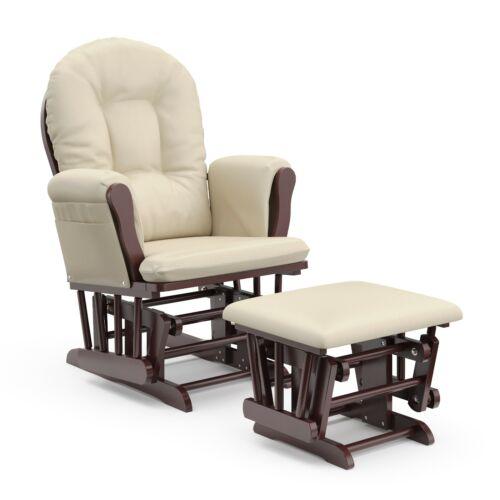 Windsor Glider w Ottoman Nursery Baby Furniture Rocking Chair Comfortable Seat