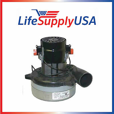 New Central Vac Vacuum Motor Will Fit Most Brands 5 7  2 Stage Tangent