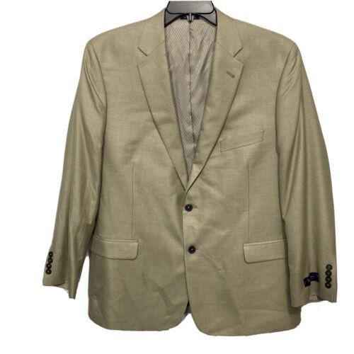 Turnbury Mens Blazer Sport Coat Suit Jacket Size 44L 44 Tan Khaki NWT $295 Clothing, Shoes & Accessories