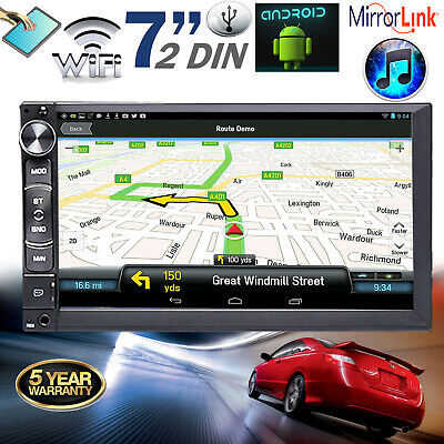 "For Toyota Camry Corolla 1983-2018 Android  7"" 2 DIN GPS WiFi USB Car Stereo MP5"