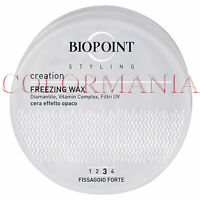 Styling Biopoint Freezing Wax Cera Modellante Forte Effetto Opaco 100 Ml -  - ebay.it