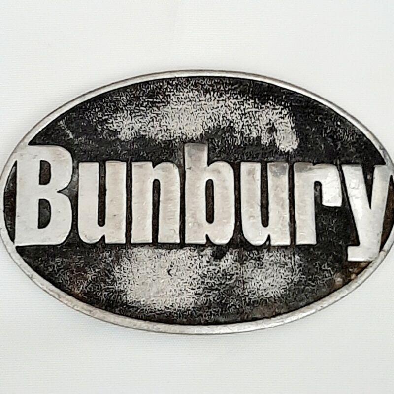 Bunbury Héroes Del Silencio Belt Buckle Used