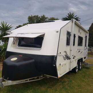 Caravan Off Road 18'6 Phoenix Tandem $118,000 New 4X4